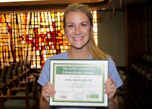 Emily Arnold July Daisy Award Honoree
