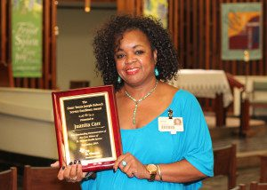 Carr Wins Infirmary's Babcock Service Excellence Award