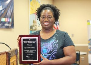Lasker Wins Babcock Service Award at Morrilton