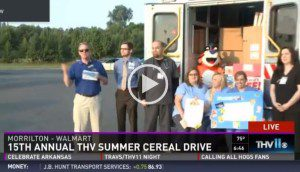 Morrilton Participates in Summer Cereal Drive
