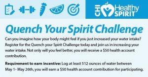 Quench Your Spirit Challenge