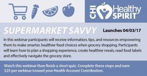 Healthy Spirit Webinar – Supermarket Savvy
