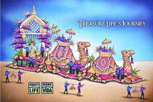 13th Annual Donate Life Rose Parade Float Honors CHI St. Vincent Donors