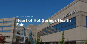 Radio Campaign Launches for Heart of Hot Springs Health Fair