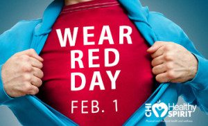 Wear Red Day Feb. 1