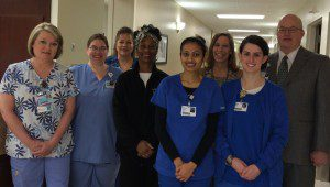 Lab and Mother Baby Unit Teamwork Nets Sustained Excellence