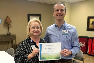Hot Springs Co-workers Recognized For Patient Experience