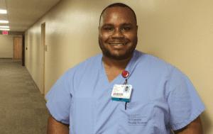 Byron Robinson – from Scrub Tech to Nurse Manager
