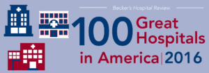 "Infirmary Again Named as one of the ""100 Great Hospitals in America"""