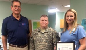 Hot Springs Nurse Honored by Department of Defense for Patriotic Support