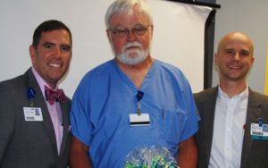 Allen Sheets receives Compassionate Care Award in Hot Springs