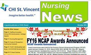 Nursing Newsletter Nov. 2016