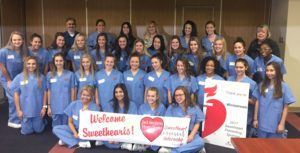 Infirmary Hosts Sweethearts for STEMI Education
