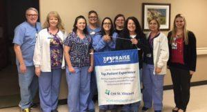 Morrilton Celebrates Patient Experience Scores