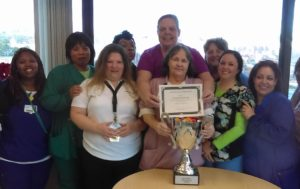 EVS Team Recognizes Nurses for Efforts to Enhance Cleanliness