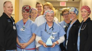 Dr. Jill Flaxman Receives Service Hero Award at Infirmary