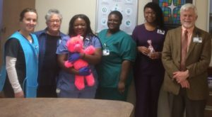 Infirmary Coworkers Spread Love on Valentine's Day
