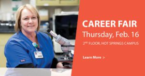 Hot Springs Hosts Oncology Career Fair Feb. 16
