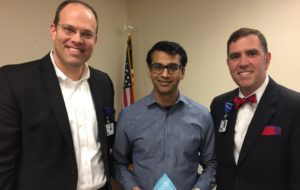 Hot Springs-Dr. Mukesh Sharma Recognized as Service Hero