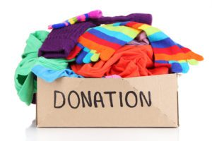 Behavioral Health Collecting Clothes for Patients