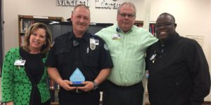 Brent Barnett Recognized as Service Hero at Infirmary