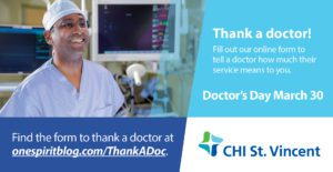 Thank a Doctor in Celebration of Doctors Day March 30