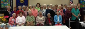 Morrilton Hosts Auxiliary Luncheon