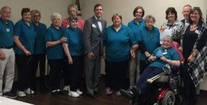 Volunteers in Hot Springs Celebrate Years of Service