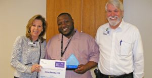 James Stanley Recognized as Service Hero at North