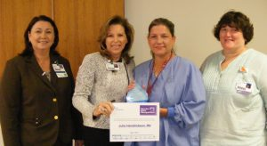 Julie Hendrickson Recognized as Service Hero at North