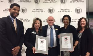 School Partnership Recognized in Little Rock