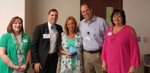 Tammy Rash Recognized as Service Hero at Hot Springs