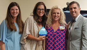 Candice Rhea Recognized as a Service Hero at Hot Springs
