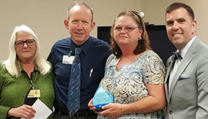 Donna Bates Recognized as a Service Hero at Hot Springs