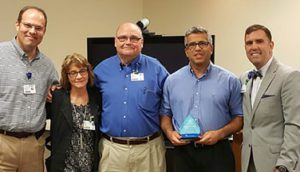 Dr. Igor DeCastro Recognized as a Service Hero at Hot Springs
