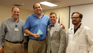 Dr. Matthew Osborn Recognized as a Service Hero at Hot Springs