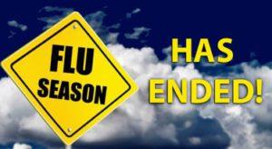 Flu Season Has Ended!