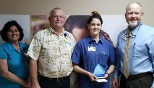 Jessica White Recognized as a Service Hero at Morrilton