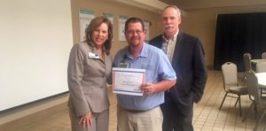 Larry Gann Recognized as Service Hero at Infirmary