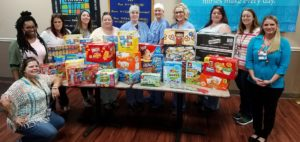 Morrilton Nurses Donate Items to Department of Human Services