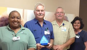 Ronnie Hill Recognized as a Service Hero at Morrilton