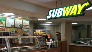 Payroll Deduct Now Available at the Infirmary's Subway
