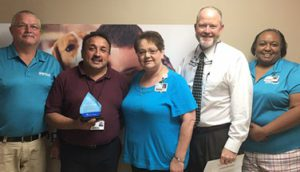Armando Ortega, EVS, Recognized as a Service Hero at Morrilton