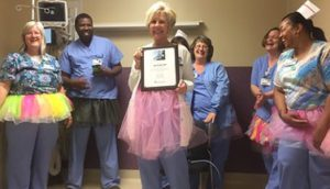 Jan Frith, RN, Tap Dances Her Way to Retirement