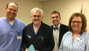 Dr. Rimantas Kazakevicius Recognized as a Service Hero at Hot Springs