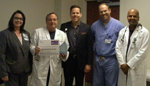 Dr. Paul Valentine-Stone Recognized as a Service Hero at North