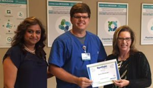Nick Carter Recognized as a Service Hero at Infirmary