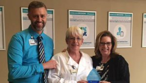 Patricia Ratliff Recognized as a Service Hero at the Infirmary