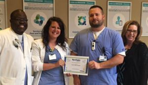 Scott and Jana Beckman Recognized as Service Heroes at the Infirmary