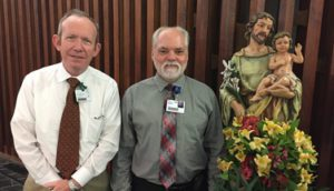 Celebrating Father William Carpenter's Board Certification